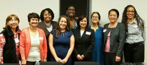 NY State President, District V Branch Presidents with Panelists
